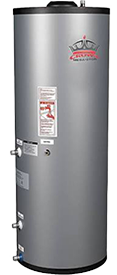 Indirect hot water maker
