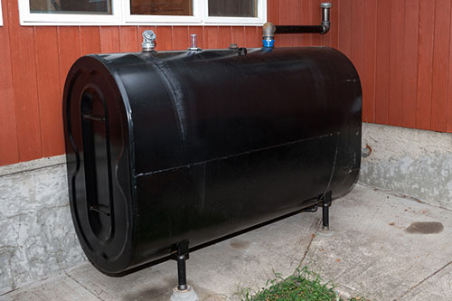 heating oil tank inspection