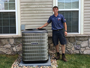 Oehlert air-conditioner installation