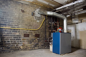 Basement furnace