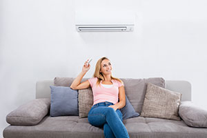 Ductless mini-split A/C